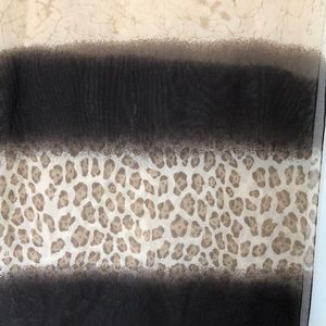 Beautiful, yet delicate, animal print scarf